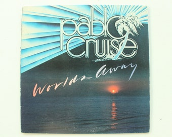 Pablo Cruise Worlds Away Record Album, Vintage LP, Vinyl