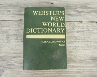 Webster's New World Dictionary, Compact School and Office Edition, 1967