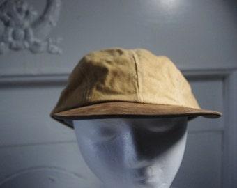 vintage plain 5 pannel hat