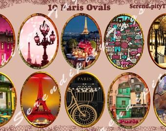Paris Oval Tags.