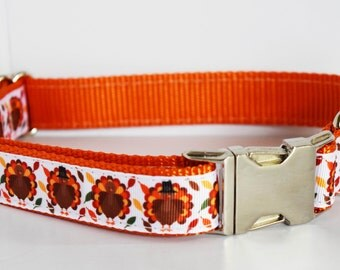 Thanksgiving Dog Collar