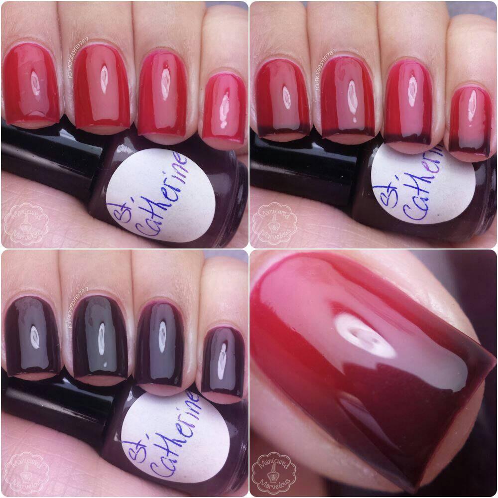 St. Catherine Thermal Nail Polish Color Changing Nail Polish