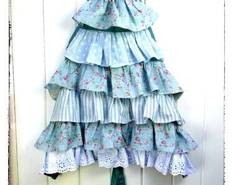NEW! Dolly Frilly Tiered Girls Apron