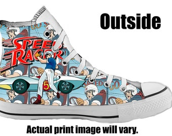 Speed Racer Custom Converse All Stars