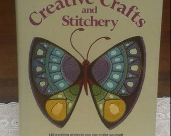 Better Homes and Gardens 1976 Stitchery and Crafts book