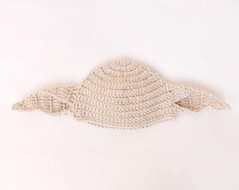 Dobby The House Elf Hat Costume From Harry Potter -  Wig Beanie Newborn  - Adult - Halloween / Cosplay Wig