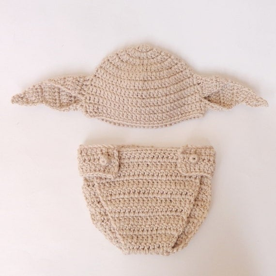 The House Elf Dobby Costume Hat And Diaper Cover From Harry