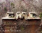 GMC Vintage Emblem Photograph