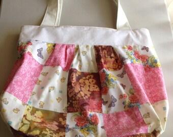 Handmade Multi Color Patchwork Shoulder Bag