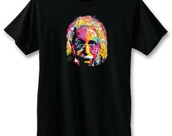 Einstein Neon T-Shirt | Neon Black Light T-Shirts | U.S. Custom Ink