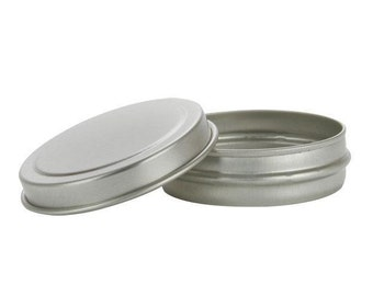 Round lip balm tin, set of 5