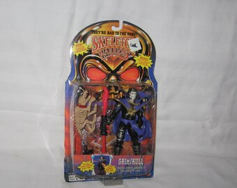 vintage 1994 playmates skeleton warriors grimskull action figure