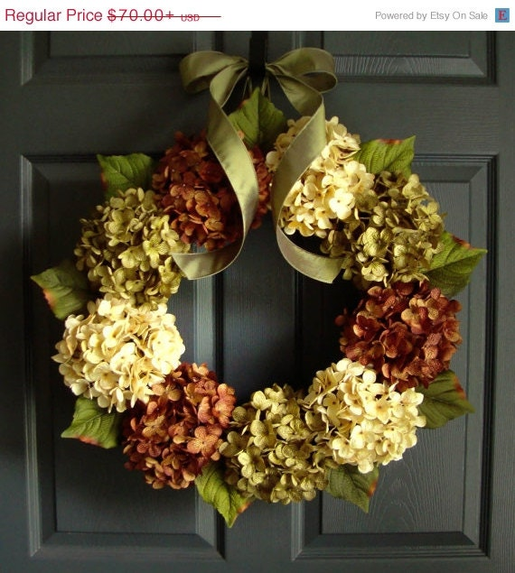Wreath Sale Wreaths Fall Door Wreath By Homehearthgarden