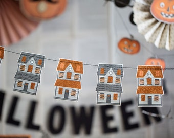SALE! Haunted House Banner from My Mind's Eye Paper Goods