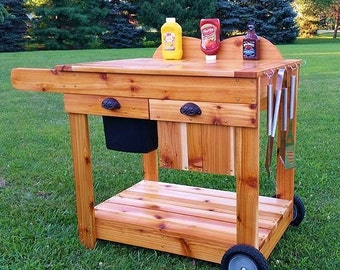 Barbecue Grill Cart ~ For Pick Up Only