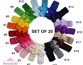 Infant Headband, 1.75 Dollars each, infant headband bow, infant headband baby girl, infant headband set, waffle headband, newborn HC06