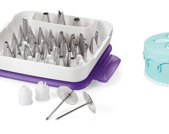 Cake Decorating Tips And Couplers : Wilton Master Decorating Tip Set - Pastry Tips Cake ...