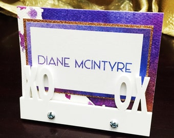 Modern place card holder