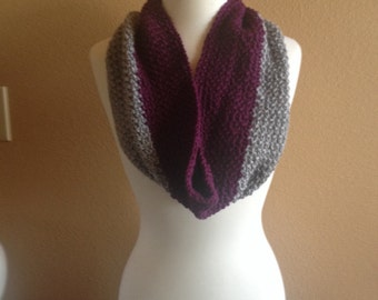 Infinity scarf. Hand crocheted