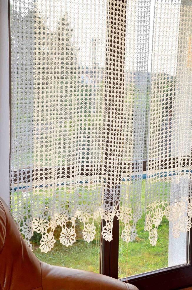 vorhang geh kelte gardine h keln vorhang von katescrochetwork. Black Bedroom Furniture Sets. Home Design Ideas