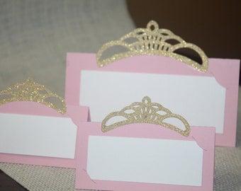 Princess party tent food, Princess tent food and place cards, Princess place cards