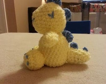 Crochet Stuffed Dinosaur