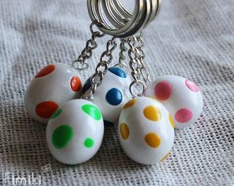 Yoshi's egg keychain
