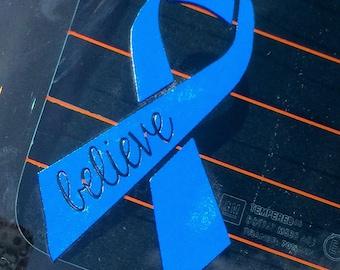 Cancer Ribbon Decal | OnSkinkerLane