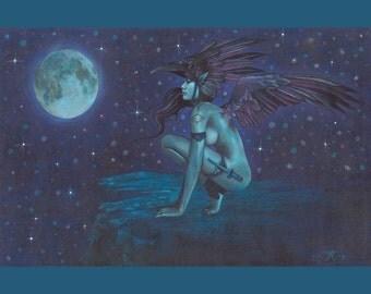 Raven's Twilight 8x10 Print