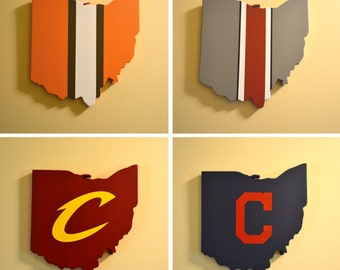 Northeast Ohio Teams Wall Art Collection