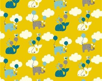 Frolic, Citron Up Up and Away for Birch Organic Fabrics3516