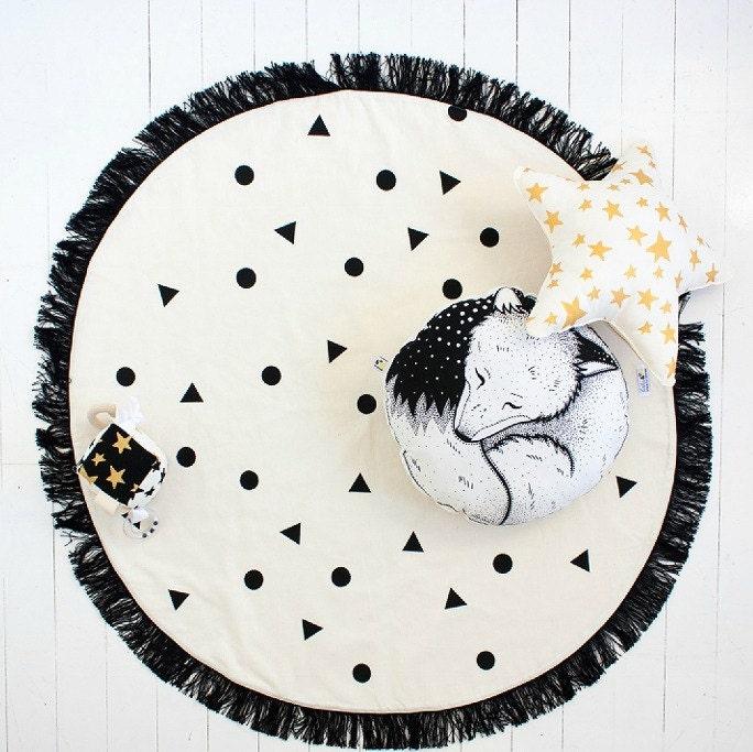 nursery rug  etsy, circle rugs for nursery, round blue rug for nursery, round pink rugs for nursery