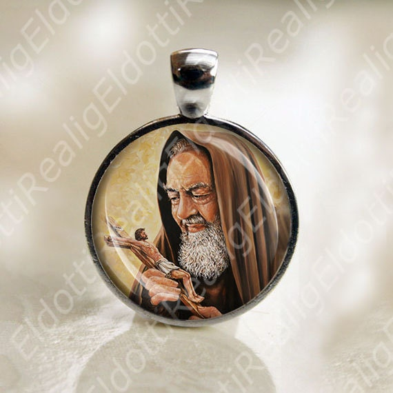 St. Padre Pio Catholic Saint Medal Religious Jewelry Pendant for ...: https://www.etsy.com/listing/192758117/st-padre-pio-catholic-saint...