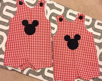 Mickey Mouse Shortall