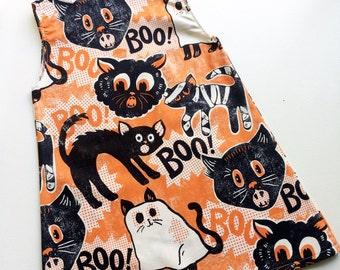 Custom Halloween shift dress