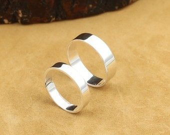 999 Silver Ring Lover's Ring Adjustable Band Ring High Quality
