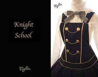 D058 Knight School Jumper Skirt
