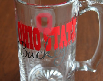 Ohio State Buckeyes Glassware