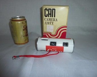 Vintage Coca Cola Can Camera Mint in Box Coke Collectible