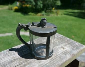 Vintage Victorian Lidded  Cup