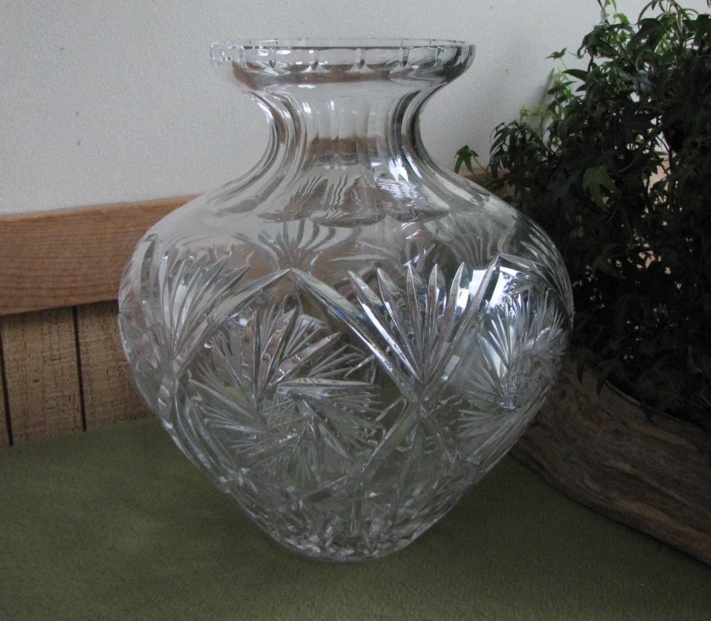2 fresh cut glass vase home idea crystal cut glass vase cut glass urn or vase by reviewsmspy