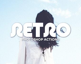 20 Retro Photoshop Actions - Retro Inspired Color