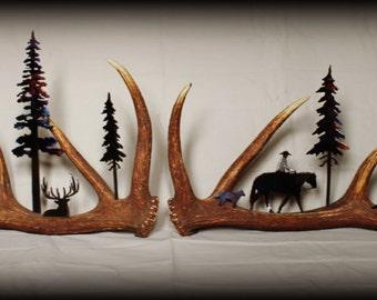 Metal Art meets Nature