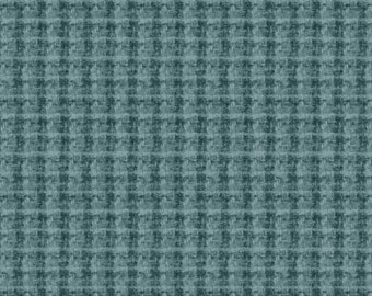 45'' Maywood Studios Blue Double Weave Woolies Flannel MASF 18504-BG by the Yard