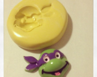 Ninja Turtle Mold  Silicone