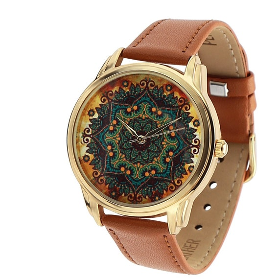 gold pattern watch boho watch for women women 39 s watch. Black Bedroom Furniture Sets. Home Design Ideas