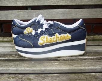 UK 7 Mens Platform Shoes Shechers.