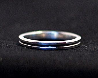 Sterling Silver Line Ring