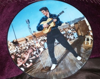 "Elvis "" Back In Tupelo,1956"" Plate # 4 In The ""In Performance""Collection No 10957 B"