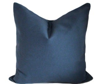 Blue pillow, Pillow cover, Decorative pillow, Throw pillow, Couch cushion, Toss pillows, 12x20, 16x16, 18x18, 20x20, 22x22, 24x24, 26x26